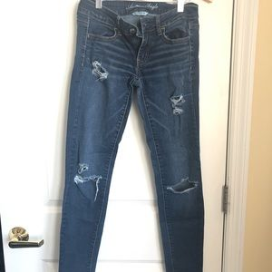 Ripped American Eagle Jeans / Jegging